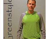 Instant Download GreenStyle Men's Hudson Hooded T-Shirt PDF Pattern - XS to XXL
