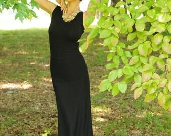 Pretty Birdie's Hemp and Organic Cotton High Waist Long Skirt
