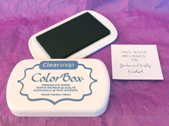 NAUTICAL / NAVY BLUE Color Box by Stephanie Barnard Dye Ink Pad