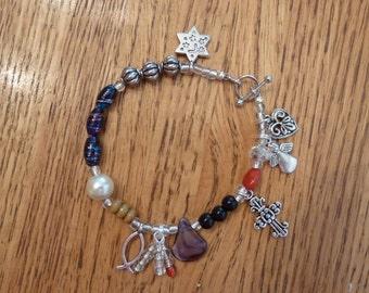Life of Jesus Charm Bracelet with Story