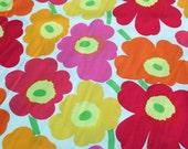 Reserved for Karen - Sunny Marimekko Mini Unikot cotton fabric - A YARD