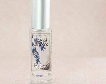 Frosted Lavender Perfume | Feminine Fragrance of  Fresh Lavender, Cream, and Sugar