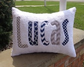 Made to Match Personalized Pillow