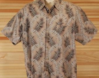 Vintage Hawaiian Aloha Shirt Size L XL ch 54