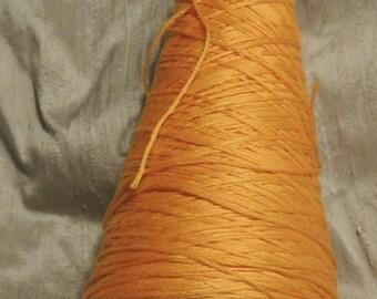 Bucilla stranded cotton floss - one 7 inch cone Color Orange Ice