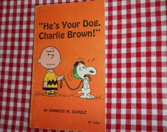 1968 Scholastic SC Book Hes Your Dog Charlie Brown by Charles M Schulz