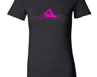 Women's swimmer t-shirt - MORE COLORS AVAILABLE