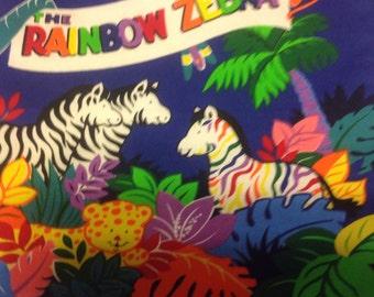 Rainbow Zebra book