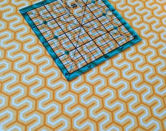 Simply Sweet Zig Zag in Orange C3464 by Lori Whitlock for Riley Blake Fabrics 1/2 yard