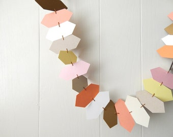 Pointies Garland / Bunting / Wedding Decor / Room Decor / Party Decor / Photo Prop