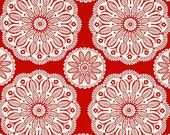Pillow and Maxfield Collection TONAL KALEIDOSCOPE in Santa