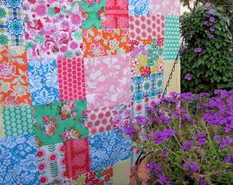 Jennifer Paganelli Jenny Eliza Patchwork and Minky Blanket Made to Order