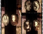 The Munsters stretch black Bracelet with 6 images (free shipping code)