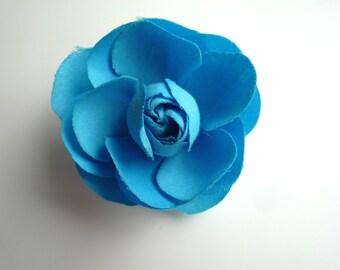 SMALL GARDENIA , Cornflower blue  / 02