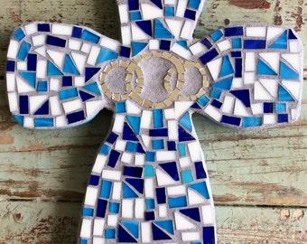 Mosaic Wedding Cross