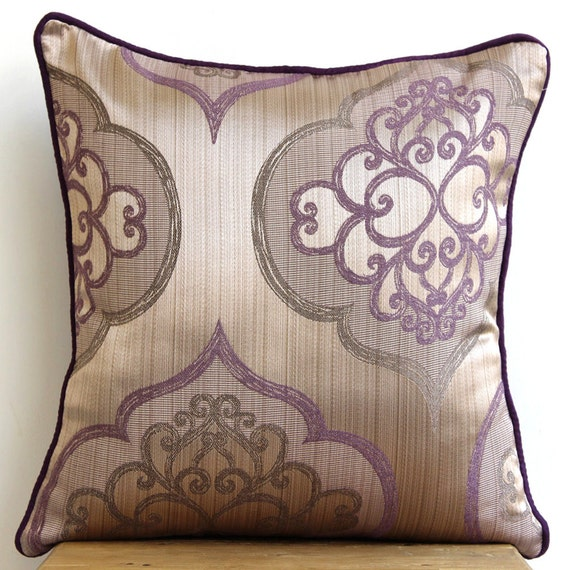Decorative throw pillow covers couch pillows by thehomecentric for Decorative bed pillow case