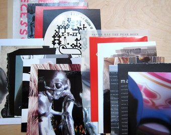 Assemblage Supplement - clipping mix (1 set of paper stock)