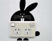 Bunny Wall Sticker for Power points and light switches