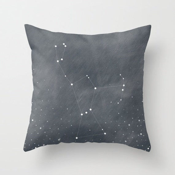 Orion constellation stars camp cabin by bellesandghosts for Constellation fleece fabric