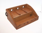 Charging Station / Docking Station (FREE SHIPPING) Handcrafted in Oak for Cell Phone, Ipod, mp3