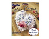 Ribbon Embroidery Kit Heirloom Heart Sachet Summer Serenade Bucilla Starter Project Kit