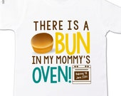 big brother to be shirt- bun in mommy's oven big brother or big sister pregnancy announcement