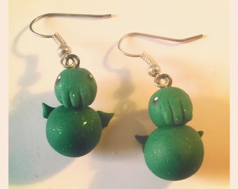 HP Lovecraft Cthulu Earrings