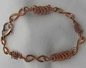 Copper Wire Bracelet. Copper Healing Bracelets. Charm Bracelet. Summer SALE.