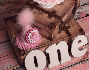 """Rosette Fake Cake Your Choice Frosting Approx. 6.75""""w x 4""""h Fab Photo Prop, First Birthday Decor, Shabby Chic Decor for your Kitchen"""