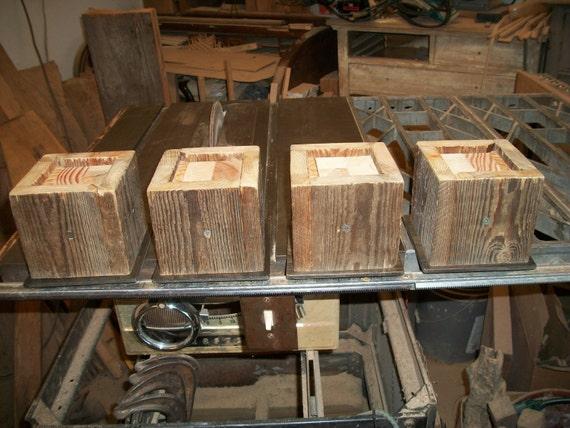 Set Of 4 Large Bed Risers Furniture Blocks Leg Stretchers