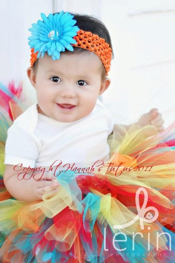 Custom - Sweet Daisy,  Birthday Tutu,  Party Tutu, Dress Up, Gift, Photo Shoots in Sizes up to 3yrs