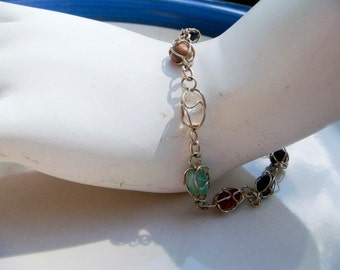 Vintage Semi-Precious Stone bracelet