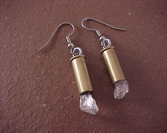 Bullet Earrings 22 Long Rifle