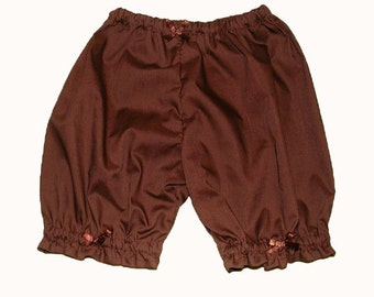 Chocolate Baby Bloomers Size 3 Months
