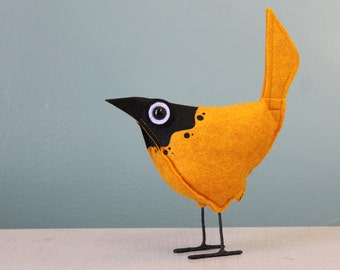 Wool Felt Pip Bird - Splash MacNCheese