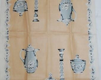 Wedgewood Tea Setting Dishes Vintage Kitchen Towel-MWT