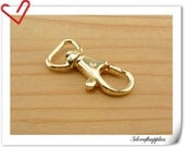 12pcs gold Trigger Snaps hook For Keychains  Purse clasp strap clasp swivel clasp P118