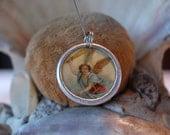 Archangel Michael devotional medal