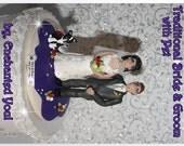 Wedding Cake Topper, Traditional, Personalised, Custom