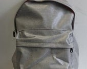 LAST ONE Waxed Denim Backpack