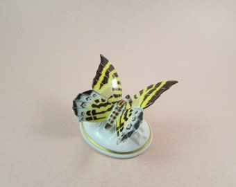 Vintage Rosenthal Porcelain Butterfly Figurine Made in Bavaria Germany 1950s