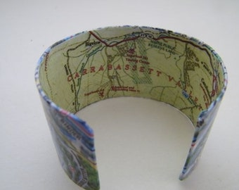 """Sugarloaf  Mountain Carrabassett Valley Cuff - 2"""" - gift boxed"""