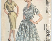 Vintage McCalls Dress Pattern 6649