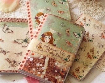 Illustrated notebook Set - Memories like Butterflies