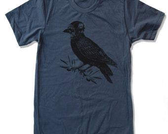 Men's Aviator CROW t shirt American Apparel s m l xl xxl (17 Colors)