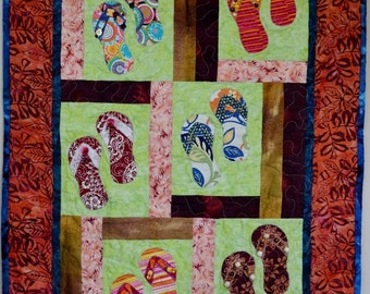 Flip Flops in Paradise Wall Hanging