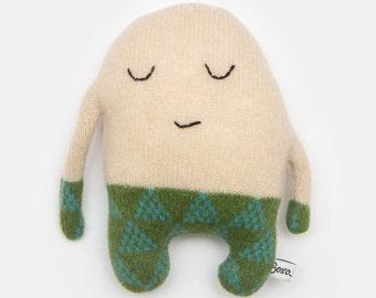 Bert Plush Lambswool Plush Toy - Made to order