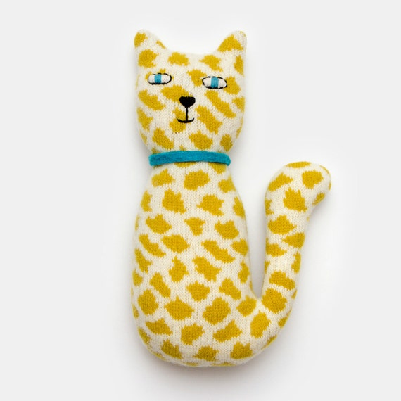Priscilla the Cat Lambswool Plush Toy - Made to order