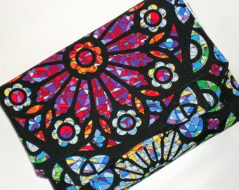 Kindle Hardcover Case Standable Nexus 7 Cover Nook Hardcover Stained Glass eReader Cover