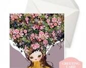 Greeting Card - Secret Garden